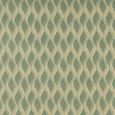 Upholstery Fabric Striped Aqua Green And Gold Wavy Striped Durable Upholstery Fabric By The