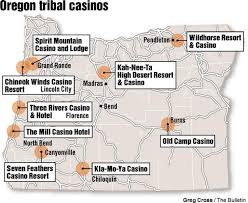 oregon s tribal casinos the state has nine each owned by a