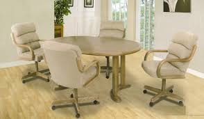 dining room chairs with casters remodel and decors
