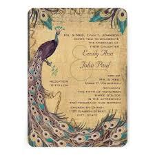 peacock invitations 39 best peacock wedding invitations images on invites