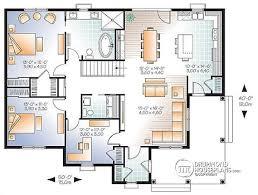 prissy ideas 10 3 bedroom bungalow house floor plans no garage