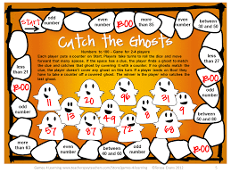 Halloween Printable Games Printable Math Game For Halloween U2013 Festival Collections