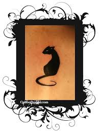107 best tattoos images on pinterest drawings cute cat tattoo