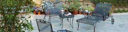 Patio Furniture Wrought Iron Dining Sets - wrought iron patio furniture woodard briarwood patio collection