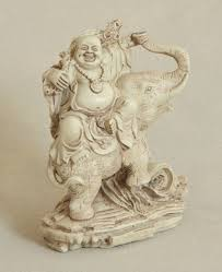 Elephant Statue Happy Buddha And Elephant Statues 6 5 Inches