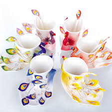 Buy Coffee Mugs Online India by Online Buy Wholesale Peacock Cup From China Peacock Cup