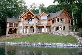 lakefront home plans remarkable decoration lakefront home plans designs with walkout