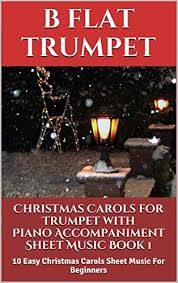 carols for trumpet with piano accompaniment sheet