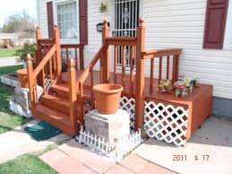 How To Cover Old Concrete by Building A Front Porch Deck Steps Rails Over Old Concrete Steps