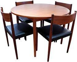 Danish Teak Dining Set SOLD INabstracto - Danish teak dining room table and chairs