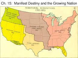 United States Territorial Growth Map by Manifest Destiny Map Thinglink