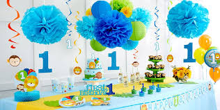 1st birthday party blue one is 1st birthday party supplies 1st birthday party
