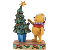 jim shore disney traditions winnie the pooh figurine qvc