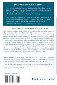 religious thought and the modern psychologies don s browning