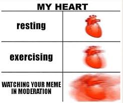 My Heart Meme - watching your meme in moderation my heart know your meme