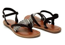 black white woven women u0027s lexie sandals toms