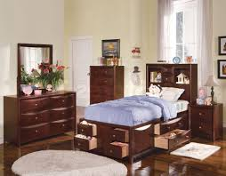 Teen Boy Bedroom Furniture by Kids Bedroom Furniture Sets For Girls Orange Accent Triple Trundle