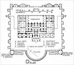 baths of titus or trajan roma thermae romanae pinterest