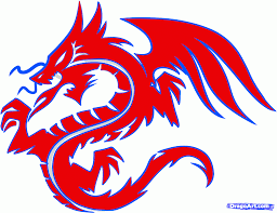 how to draw a dragon tribal tribal dragon tattoo step by step