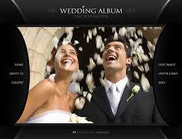 best wedding album website website template 24458 wedding album page custom website template