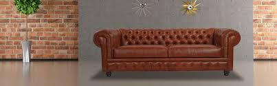 Chesterfield Sofa Bordeaux Premium Leather Kardiel - Chesterfield sofa and chairs