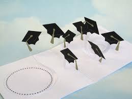 coupe papier design lobtention du diplôme carte spirale pop up félicitations