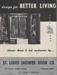 vintage 1950s etched glass shower door catalog u2026 u2026dreaming about a