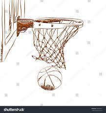 scoring winning points basketball game 3d stock illustration