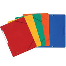 fournitures de bureau fiducial chemise à élastiques fiducial capacité250 feuilles dos 1 5 cm