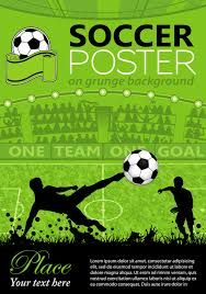 delicate soccer poster background vector graphics 01 free u2013 over