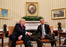 Obama Shooting Meme - photo shows obama giving donald trump the finger at white house
