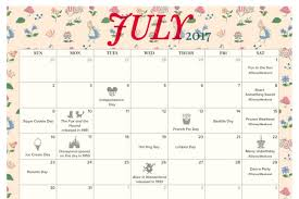 printable calendar pages july 2017 printable calendar and coloring pages disney family