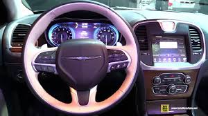 2015 chrysler 300c platinum exterior and interior walkaround