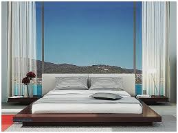 Ikea Malm Bed With Nightstands Storage Benches And Nightstands Luxury Contemporary Bedroom