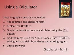 graph x 2 4x 5 steps to graph a quadratic equation 1