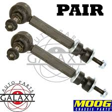 moog new replacement rear sway bar link pair for vue torrent xl 7