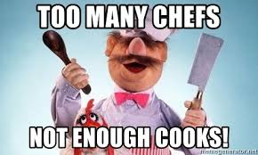 Swedish Chef Meme - too many chefs not enough cooks swedish chef and chicken meme