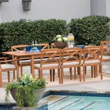 Wood Patio Furniture Sets Wood Patio Dining Sets Black Friday Deals Through 11 29