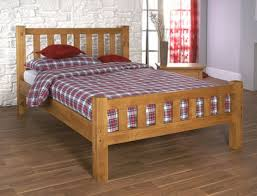 4ft Wooden Bed Frame Limelight Astro 4ft Small Pine Wooden Bed Frame By