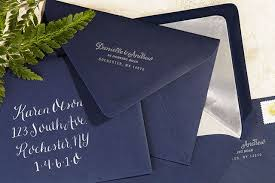 wedding invitations rochester ny navy and silver painted wedding invitations oh so beautiful
