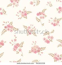 seamless floral background bouquets flowers vector stock vector