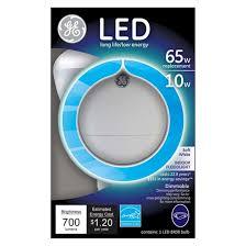 ge led 65 watt br30 long neck light bulb soft white target