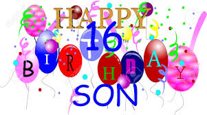 happy birthday to the best son ever love mom poster clipart