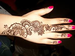 henna designs for beginners floral