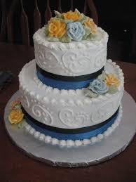 wedding cake anniversary wedding cakes by blue navy blue anniversary cake