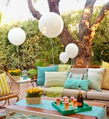 Engagement Party Decorations Ideas by Backyard Party Decorations Backyard Engagement Party Decoration
