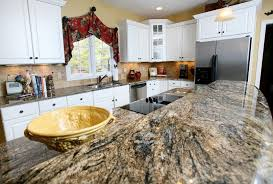 Granite Countertop Colors With White Cabinets Roselawnlutheran - Granite on white kitchen cabinets