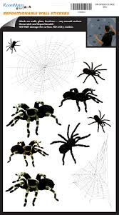 spiders and webs wall decals for halloween wall2wall spiders and webs wall decals for halloween