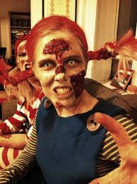 Pippi Longstocking Costume Last Years Halloween Costume Zombie Pippi Longstocking Imgur