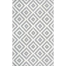 Green And White Area Rug Nuloom Kellee Black 5 Ft X 8 Ft Area Rug Mtvs174a 508 The Home